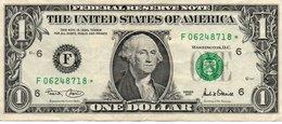 USA= ATLANTA GEORGIA    2001   1  DOLLAR   STAR  NOTE  VF/X FINE - Bilglietti Della Riserva Federale (1928-...)