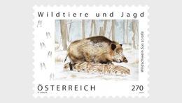 H01 Austria 2019 Wild Boar MNH Postfrisch - 1945-.... 2ème République