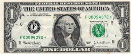 USA= ATLANTA GEORGIA    2003   1  DOLLAR   STAR  NOTE  VF/X FINE - Federal Reserve Notes (1928-...)
