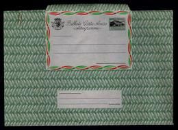 """Architecture Mail Courrier """"post Office"""" MALANJE Maize Corn Angola Alimentation Aérogramme Portugal RARE Agricole #9988 - Agriculture"""