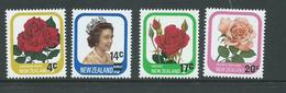 New Zealand 1979 Surcharges Set 4 MNH - Unused Stamps
