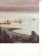 J B Jongkind Etretat Postcard Unused Good Condition - Paintings
