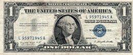 USA= SILVER CERTIFICATE   1957-A   1  DOLLAR    VF/X FINE - Certificats D'Argent (1928-1957)