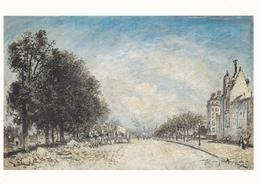 Johan Barthold Jongkind The Boulevard Royal Paris Postcard Used Good Condition - Paintings
