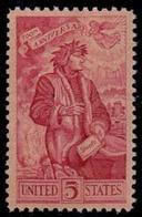 1965 USA Danta Alighieri (1265-1321) 700th Anniv Stamp Sc#1268 Italian Poet Book - Languages