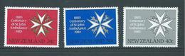 New Zealand 1985 Ambulance Centenary Set 3 MNH - New Zealand
