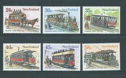 New Zealand 1985 Transport History Set 6 MNH - New Zealand
