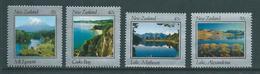 New Zealand 1983 Lakes Set 4 MNH - New Zealand