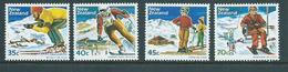 New Zealand 1984 Snow Ski Set 4  MNH - New Zealand