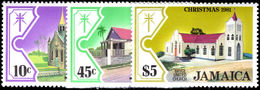 Jamaica 1981 Christmas. Churches Unmounted Mint. - Jamaica (1962-...)