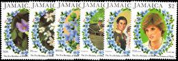 Jamaica 1982 Princess Of Wales Birthday Unmounted Mint. - Jamaica (1962-...)