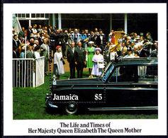 Jamaica 1985 Queen Mother Souvenir Sheet Unmounted Mint. - Jamaica (1962-...)