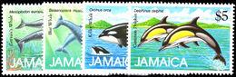 Jamaica 1988 Marine Mammals Unmounted Mint. - Jamaica (1962-...)