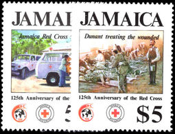 Jamaica 1988 Red Cross Unmounted Mint. - Jamaica (1962-...)
