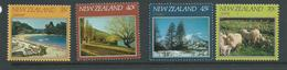 New Zealand 1982 Four Seasons Set 4 MNH - New Zealand