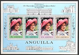 ANGUILLA 1980 Queen Mother 80th. Birthday S/S Mint NH - Anguilla (1968-...)