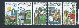 New Zealand 1981 Anniversaries & Events Set 5 - Pair & 3 Singles - MNH - New Zealand