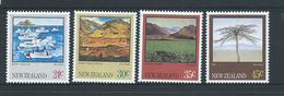 New Zealand 1983 Landscapes Set 4 MNH - New Zealand