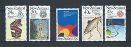 New Zealand 1983 Anniversaries & Events Set 5 MNH - New Zealand
