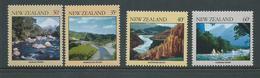 New Zealand 1981 Rivers Set 4 MNH - New Zealand