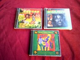 COLLECTION DE 3 CD ALBUM DE COMPILATION REGGAE / RASTA REGGAE + BEST OF REGGAE DOUBLE ALBUM + DANCE HALL STYLEE - Reggae
