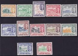St Christopher, Nevis , Anguilla 1952 SG 94-105 Mint Hinged - St.Kitts E Nevis ( 1983-...)