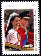 CANADA 2011 ROYAL WEDDING DAY USED MI 2740 SC 2478 YT 2620 SG 2795 - Gebraucht