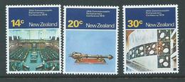 New Zealand 1979 Parliamentary Conference Set 3 MNH - Unused Stamps