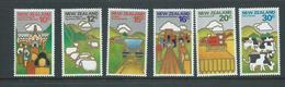 New Zealand 1978 Agriculture Set 6 MNH - New Zealand