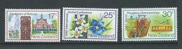 New Zealand 1980 Rotorua Centenary Set Of 3 MNH - New Zealand