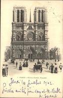 62224373 Paris Cathedrale Notre Dame Facade / Paris /Arrond. De Paris - Francia