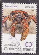 2010. Christmas Island. Crabs. 60c. Robber Crab. FU. - Christmas Island
