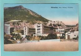 Small Post Card Of New Military Hospital,Gibraltar,K76. - Gibraltar