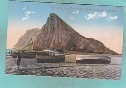 Small Post Card Of The Rock,Gibraltar,K76. - Gibraltar
