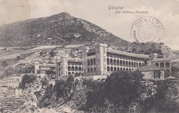 Small Post Card Of The Military Hospital,Gibraltar,K76. - Gibraltar