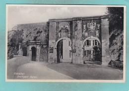 Small Post Card Of Southport Gates,Gibraltar,K76. - Gibraltar