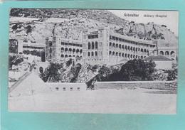 Small Post Card Of Military Hospital,Gibraltar,K76. - Gibraltar