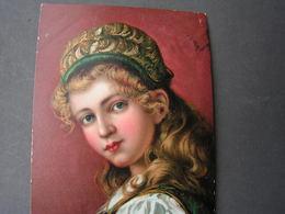 Künstlerkarte Ottenhofen Amt Achern 1917 - Portraits