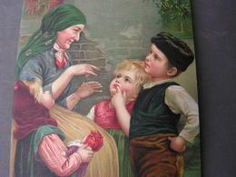 Es War Einmal 1913 Künstler AK - Gruppen Von Kindern Und Familien