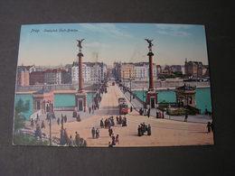 Prag , Svatopluk Brücke  Ca. 1910 - Tschechische Republik