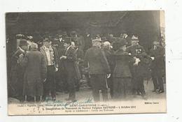 Cp, 37 , SAINT CHRISTOPHE ,  Inauguration Du Monument Du Docteur Fulgence Raymond , 5 Octobre 1913,sortie Des Tribunes - Andere Gemeenten