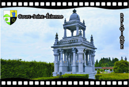 Postcard, REPRODUCTION, Municipalities Of Belgium, Streets Of Court-Saint-Étienne 2 - Cartes Géographiques