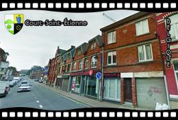 Postcard, REPRODUCTION, Municipalities Of Belgium, Streets Of Court-Saint-Étienne 6 - Cartes Géographiques