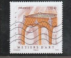 FRANCE 2017 METIERS D ART EBENISTE OBLITERE YT 5197 - Oblitérés