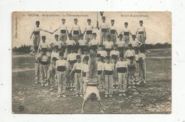 Cp, Militaria , BILLOM ,  école Militaire , La Tribune Marchante ,section De Gymnastique - Personaggi