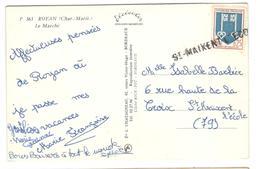15776 - Linéaire St MAIXENT L ECOLE - Postmark Collection (Covers)