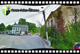 Postcard, REPRODUCTION, Municipalities Of Belgium, Streets Of Court-Saint-Étienne 20 - Cartes Géographiques