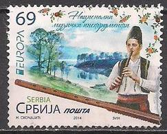 Serbien  (2014)  Mi.Nr.  550  Gest. / Used  (1ai33)  EUROPA - Serbien