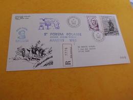 BELLE ENVELOPPE ...2E FORUM POLAIRE ...ANNEE JULES VERNE AMIENS 1985 - Lettres & Documents
