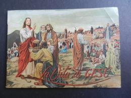 8G) RELIGIONE LA VITA DI GESU' PICCOLO LIBRETTO 40 PAGINE CON 20 ILLUSTRAZIONI A PIENA PAGINA - Altri